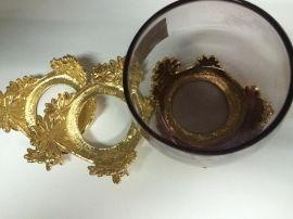 厂家生产红酒标牌 金属铭牌 铝片加工 饰品铝片 锌合金标牌