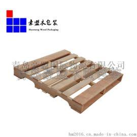 厂家生产美标木梁托盘 山东潍坊出口熏蒸木卡板承重性好