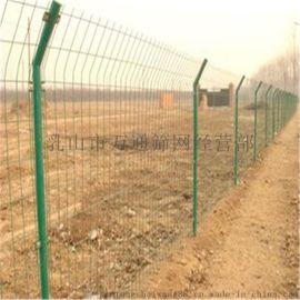 山东威海 万通浸塑双边丝护栏网现货供应