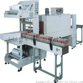 河北华创自主恒温热收缩包装机 PE袖口收缩机 自动传送零人工作业