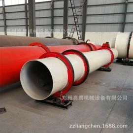 厂家直销 全自动煤泥河沙烘干机 大型滚筒矿石鸡粪烘干机设备