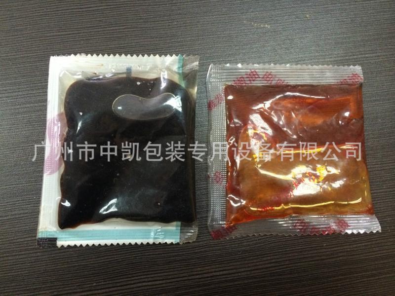 【厂家供应】四边封液体包装机 全自动洗发水护发素小袋装包装机