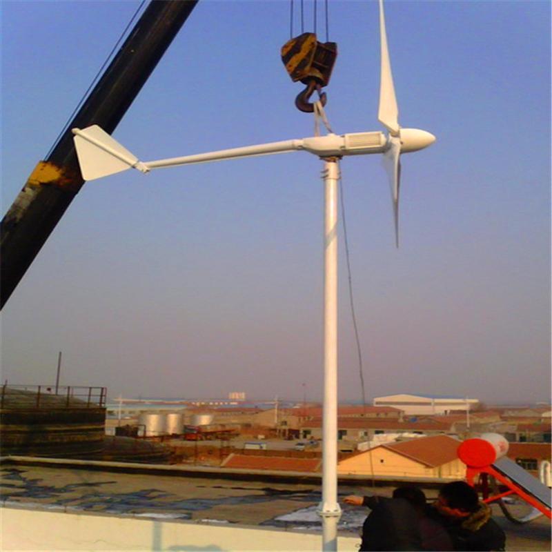 供應建築物節能率     晟成 FD-500W 風力發電機 節省用工全自動