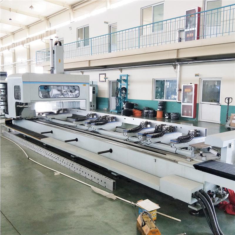 铝幕墙高速四轴数控加工中心高速四轴加工中心厂家直销
