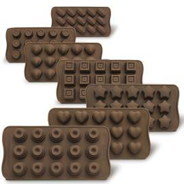 DIY手工巧克力模具硅胶环保厨房烘焙工具, 硅胶蛋糕模具