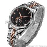 高档优质不锈钢机械手表 厂家直销