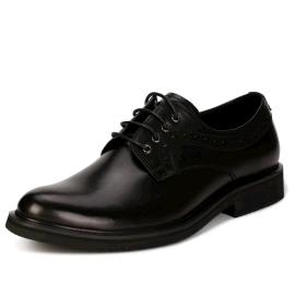 固宜鞋跟不磨损正装皮鞋