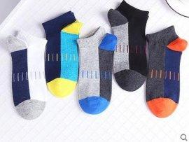 船袜男纯棉隐形浅口防滑夏季薄款袜子男短袜短筒防臭运动四季