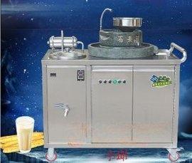 电动石磨豆浆机全自动 石磨可升降煮浆一体石磨豆浆机商用