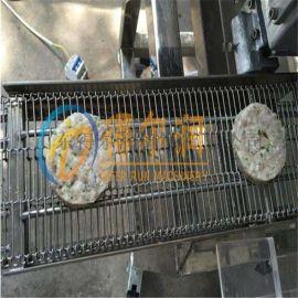 自动控制肉饼成型机 DR01圆形肉饼成型设备