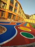 室外球场幼儿园epdm塑胶地面