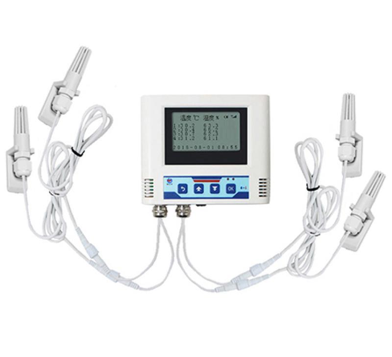 多功能温湿度变送器 库房工厂温湿度传感器监测系统