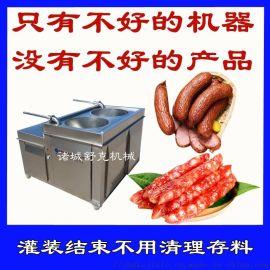 定制麻辣香肠液压灌肠机小型香肠加工设备
