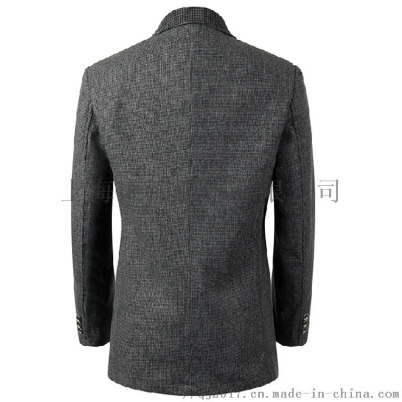 上海量身手工订做西服员工西装**毛料可看图样订制