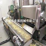 江西特色黃金豆油炸機 電加熱黃金豆油炸拌料生產線