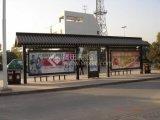 仿古候車亭設計 公交站臺廠家批量供應城市品位候車亭