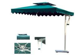 户外遮阳伞定制,铝质**边柱伞
