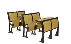 厂家直销大学教室阶梯排椅 培训学校课桌椅 多媒体教学椅