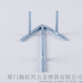 弹簧钢表面镀锌 烤漆前方线型箭头指示牌