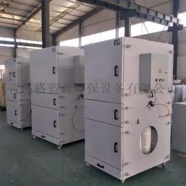 格蓝森工业打磨除尘器,多滤筒脉冲除尘器一体机