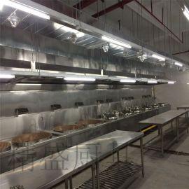 深圳食堂厨房工程,工厂、商用专用厨房设备,不锈钢加工厨具