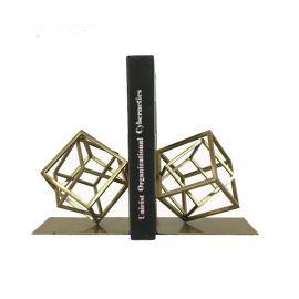 欧式创意家居饰品 复古书挡书立 办公室书房摆件书架装饰品一对装