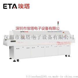 厂家直销LED专用回流焊炉,LED六温区回焊炉