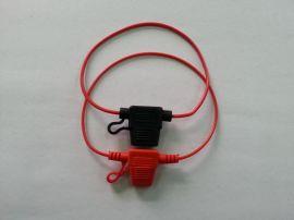 插片带线保险丝座 **线束汽车保险丝盒 16号线