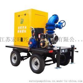 移动泵站 城市排涝泵站 拖车式泵站