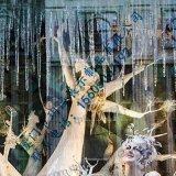 厦门玥诚冰锥冰凌橱窗展示道具 透明树脂橱窗道具制作