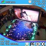 P5.95室内LED移动地砖屏车展T台舞台演出地板地面踩踏电子显示屏幕华信通光电