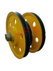 20T500导向滑轮 钢丝绳轨道滑轮塔吊挂钩滑轮组