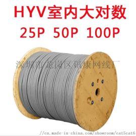 25对30对50对100对 室外大对数通信电缆纯铜市话电缆