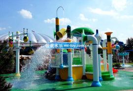 广州牧童水上乐园设备厂家直供水上滑梯缤纷系列