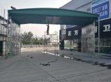 成都专业定做活动推拉雨棚伸缩雨棚遮阳雨棚大排档雨篷