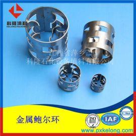 S30408金属不锈钢鲍尔环填料Ф25金属鲍尔环