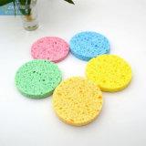 細孔棉清潔洗碗木漿棉天然環保料彩色纖維海綿粗孔定制
