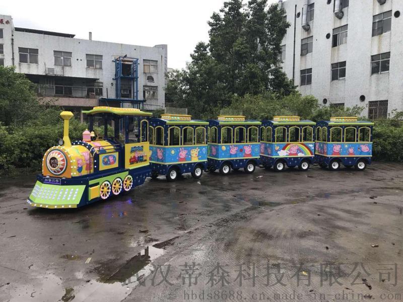湖北电动观光火车DSW-E24商场游乐小火车