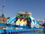 移动水上乐园支架水池游泳池拆卸式移动水池
