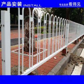 市政交通防护栅栏 中山马路中间隔离护栏 机动车围栏