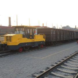 内燃公铁两用牵引车大吨位5000吨铁路专用线煤矿