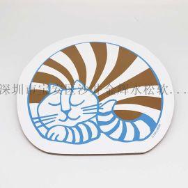 厂家定做软木杯垫/铜版纸印刷杯垫/广告软木杯垫