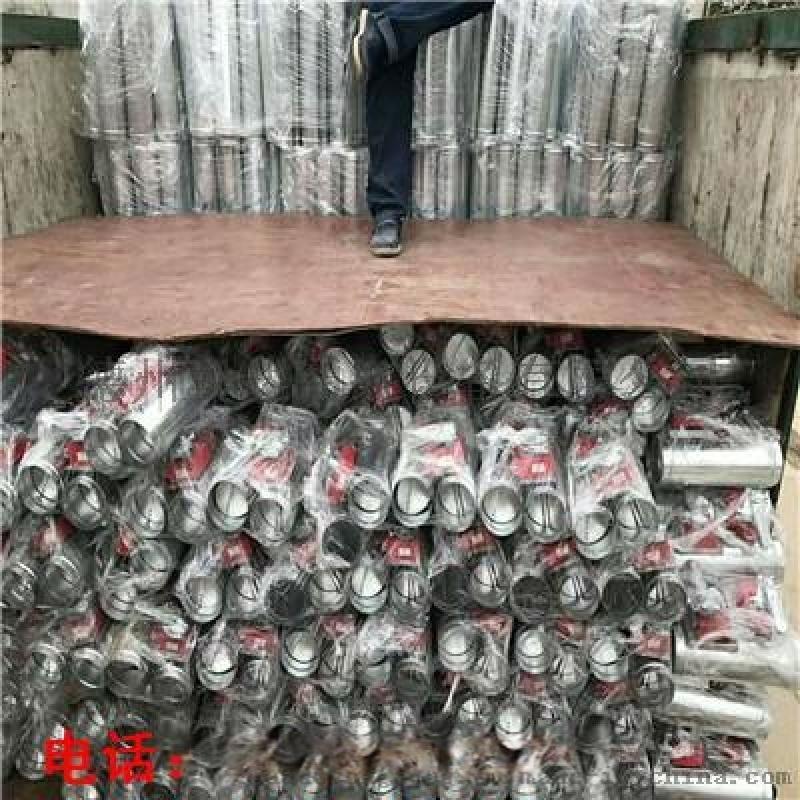 山东济南铝合金矩形双层百叶风口大量生产