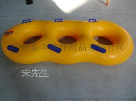 三人滑水圈 图案可定制