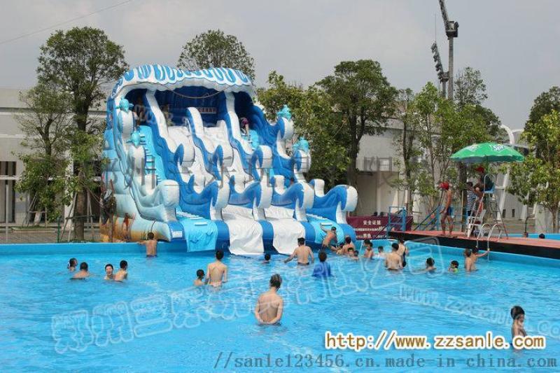 山东济南水上游乐设备水上滑梯