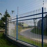 小区铁艺栅栏大门 欧式铁艺围栏 庭院锌钢护栏