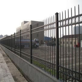 酒泉工业园区围栏栅栏 围墙铁艺护栏锌钢护栏