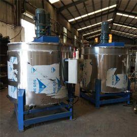 佛山不锈钢液体搅拌桶 电加热搅拌罐厂家直销