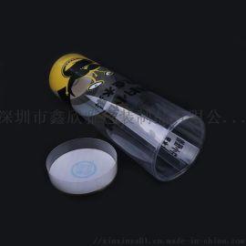 透明塑料盒土特產包裝PVC禮品小盒子圓形訂做規格