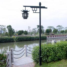 庭院燈廠家定制3.5米中式庭院燈 路晟照明中式庭院燈公園用